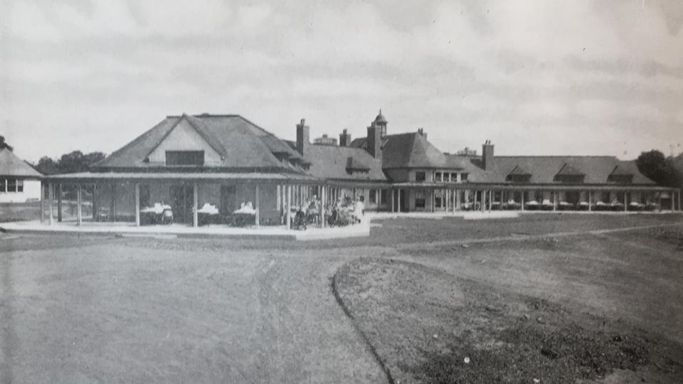 West Pavilion, 1929